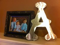 18 Metal Letters by MetalArtByChris on Etsy, $15.00