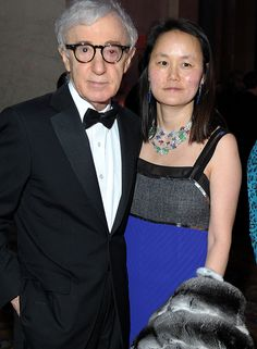 Woody Allen Photos - Woody Allen and Soon-Yi Previn attend the amfAR New York Gala to kick off Fall 2013 Fashion Week at Cipriani Wall Street on February 2013 in New York City. - amfAR New York Gala To Kick Off Fall 2013 Fashion Week - Inside Ben Whishaw, Jean Reno, Anthony Hopkins, John Travolta, Jim Carrey, Jack Nicholson, Danny, Woody Allen, 24 Years