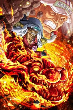 One Piece: These Characters Can Activate Buster Call One Piece Anime, Ace One Piece, One Piece World, One Piece Fanart, One Piece Wallpaper Iphone, New Wallpaper, Fruit Du Demon, Akuma No Mi, One Piece Tattoos