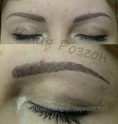 татуаж бровей волосковый метод фото | Photo-Find.ru