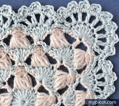 MyPicot | Free crochet patterns - square