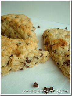 Chocolate Chip Scones. Yes, please!