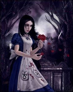 Image shared by MayaFox. Find images and videos about alice: madness returns on We Heart It - the app to get lost in what you love. Alice In Wonderland Artwork, Alice In Wonderland Steampunk, Dark Alice In Wonderland, Adventures In Wonderland, Alice Madness Returns, Beautiful Dark Art, Beautiful Artwork, Alice Sweet Alice, Creepypasta Girls