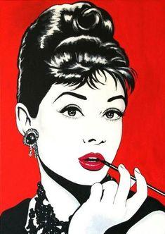 Audrey Hepburn. Pop Art