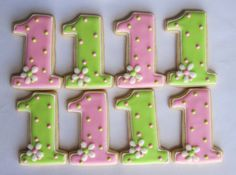 IM NUMBER ONE Sugar Cookie Party Favors