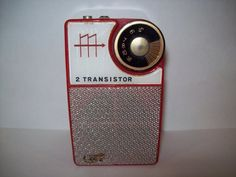 vintage transistor radio...