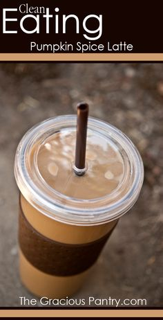 You'll never need Starbucks again! #cleaneating #cleaneatingrecipes #eatclean #cleaneatingdrinks #drinks #drinkrecipes