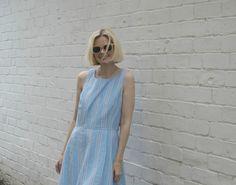 BUDGET BUY: STRIPED LINEN DRESS - Kat got the Cream