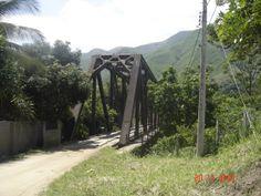 Ponte de Ferro em Arcádia, RJ