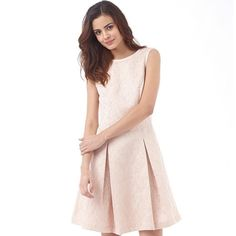 e4429eb675cd Ted Baker Pink Delina Jacquard Fit Flare Mini Skater Prom Party Dress 3 12  40 #TedBaker #ALineDress #Party