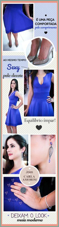 Bendito Look - Bendita Inspiração #lookdodia #lookoftheday #ghetz #dress #vestido #deidue #detalhes #details