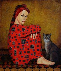 "Zviad Gogolauri - ""Woman in red"""
