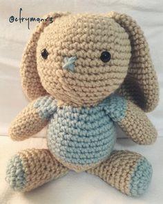 Amigurumi bunny, 2016   pattern coming soon.