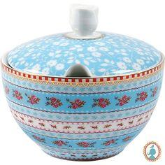 Açucareiro porcelana Pip Studio. www.casadaalice.com.br