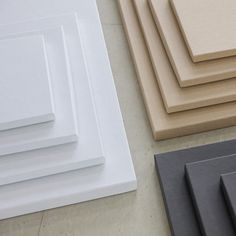 Luxe white, kraft and charcoal eco friendly box collection | #designaglow