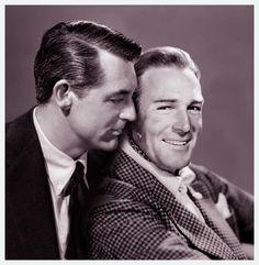 Cary Grant e Randolph Scott