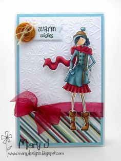 Brrrr! by maryj68 - Cards and Paper Crafts at Splitcoaststampers