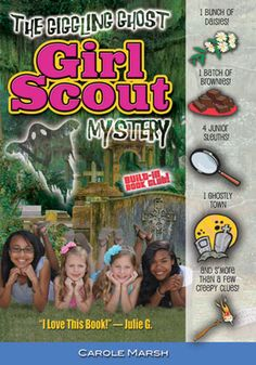 This page links to both the printable and online versions of the The Giggling Ghost Girl Scout Mystery Troop Leader Activity Guide. It's Free!
