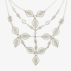 Cathy Waterman diamonds necklace