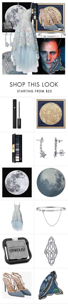 """""""blue moon"""" by natrocker ❤ liked on Polyvore featuring Lancôme, PBteen, Yves Saint Laurent, BERRICLE, MOROSO, Notte by Marchesa, Eddie Borgo, Urban Decay, Emilio! and Valentino"""