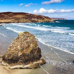 Sea Stacks at Garry Beach, North Tolsta, Isle of Lewis, Scotland
