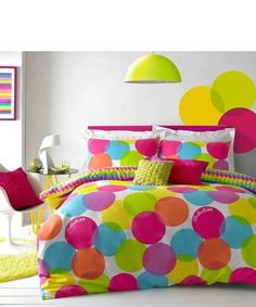 How to bring colour into your home ...