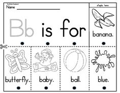 ALPHABET BEGINNING SOUNDS BOOKS - {1 PAGE EACH} - TeachersPayTeachers.com