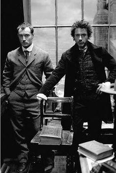 Watson & Holmes All men should dress like this :)
