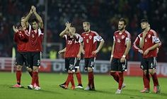 Albania forced to wait for Euro 2016 after Serbia strike late - http://footballersfanpage.co.uk/albania-forced-to-wait-for-euro-2016-after-serbia-strike-late/