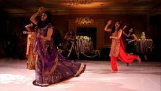 Surprise Indian-Latin Mashup Wedding Dance