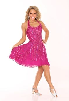 Designer Dresses | Dresses | Halter style panel dress | Gail McInnis Productions