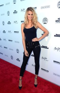 Hailey Clauson Photos Photos - Hailey Clauson attends Sports Illustrated Swimsuit Summer of Swim Fan Festival and Concert at Coney Island Beach and Boardwalk on August 28, 2016 in Brooklyn, New York. - Sports Illustrated Swimsuit Summer of Swim Fan Festival