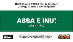 ABBA E INU' - acqua e vino - water and wine.