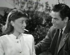 A Stolen Life (1946) , Glenn Ford, Bette Davis,
