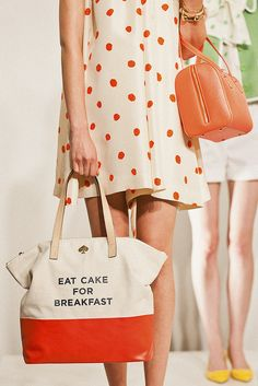 """Eat Cake for Breakfast""!...my thought exactly!"