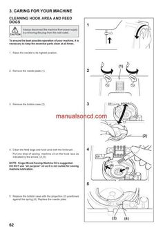 How To Thread The Singer  Sewing Machine Free Threading Guide