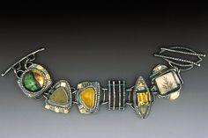 Enamel Druse Bracelet