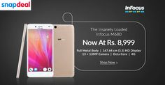 The Insanely Loaded Infocus M680 Mobile Now At Rs.8,999/- Buy Now @ http://goosedeals.com/home/details/snapdeal/140397.html