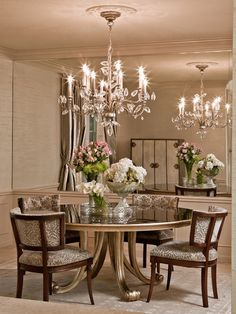 Eclectic Dining Rooms from Judith Balis : Designers' Portfolio 2424 : Home & Garden Television