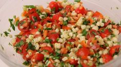 Summer Corn Salad Recipe - Laura Vitale - Laura in the Kitchen Episode 429