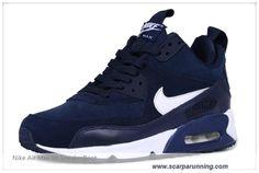 timeless design d6658 2ab65 scarpe da basket Bianco Blu 616113-007 Nike Air Max 90 SneakerBoot Uomo scarpe  su internet