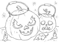 Color in this Jack-o-lantern coloring page. Perfect for Halloween. Halloween Coloring Pictures, Free Halloween Coloring Pages, Fall Coloring Pages, Adult Coloring Pages, Coloring Books, Halloween Pumpkins, Fall Halloween, Halloween Templates, Macabre