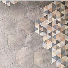Hexágono Fingal 23x26,6cm. | Pavimento Porcelánico | VIVES Azulejos y Gres S.A. #tile #porcelain #hexagon Diseño y Decoración #Azulejos