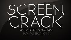 sweet after effects script crack