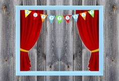 Carnival / Circus Birthday Party Theme - Photo Booth - Prop - Decoration - Downloadable - Printable - 16x20 or 20x24