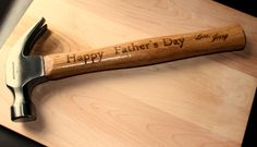 Personalized Dad's Gift - Custom Engraved Hammer - Personalized Tool's - Tools for Dad - Engraved Gift for Dad - Stepdad Gift - Men's Gift - by 4EvergreenEngraving on Etsy https://www.etsy.com/listing/190721216/personalized-dads-gift-custom-engraved
