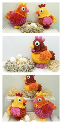 Free Amigurumi Dolls Crochet Patterns Amigurumi Lindwurm The . Easy Knitting Projects, Easy Knitting Patterns, Crochet Projects, Crochet Patterns, Crochet Animals, Crochet Toys, Free Crochet, Amigurumi Doll, Amigurumi Patterns