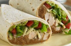 ReadySetEat - Chicken and Bean Burritos - Recipes