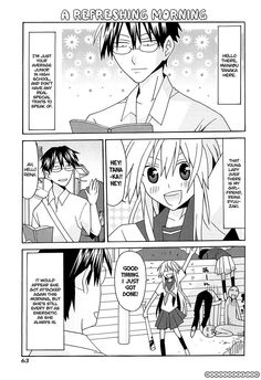 """Yandere Kanojo 11.1 Page 2 -- Manabu Tanaka (why is it so difficult for me to remember """"Manabu""""!?!?) and Reina Ryuuzaki"""
