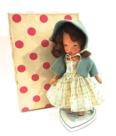 Vintage Nancy Ann Doll Storybook Doll Bisque by VintagePrairieHome